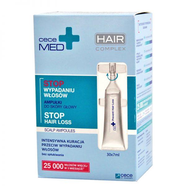 ampułki do wcierania przeciw wypadaniu włosów