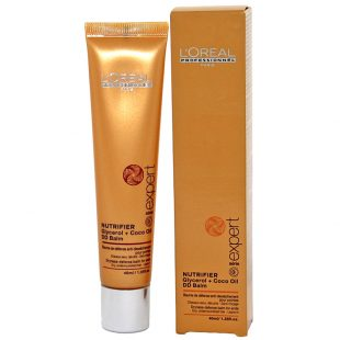 Balsam odżywczy do włosów suchych lub przesuszonych Loreal Nutrifier Glycerol + Coco Oil 40ml