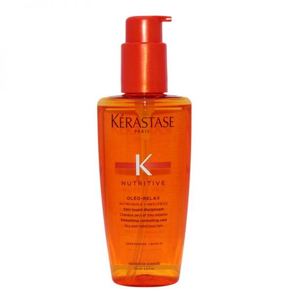 Fluid odżywczy do włosów Kerastase Nutritive Oleo-Relax 125ml - wygładza włosy i chroni przed wilgocią