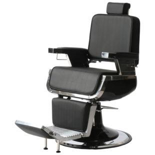 fotel barberski dobry i trwały ayala czarny dark