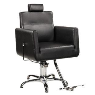fotel fryzjerski męski ayala ray czarny