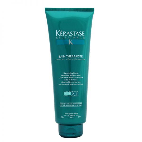 Kąpiel odbudowująca włosy Kerastase Resistance Bain Therapiste [3 4] 450ml