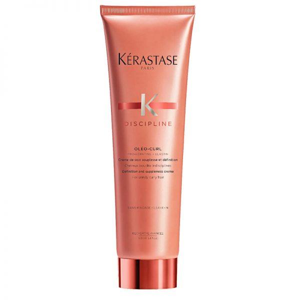 Krem do włosów kręconych Kerastase Discipline Oleo Curl Pro-Keratine + Elastin 150ml