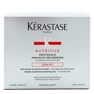 Kuracja odżywcza Kerastase Nutritive Protocole Immunite Secheresse Soin No1 500ml