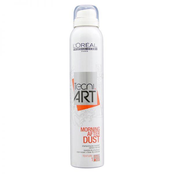 Suchy szampon do pielęgnacji i stylizacji włosów Loreal Tecni ART Morning After Dust 200ml