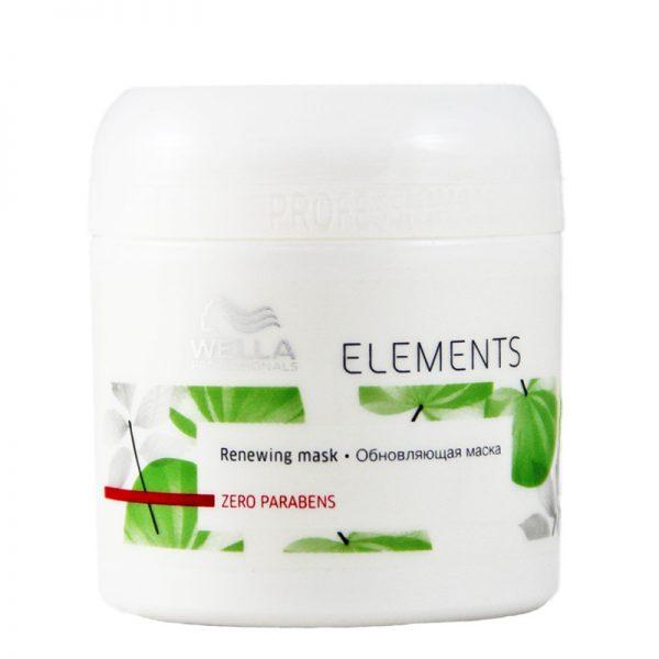 Maska do włosów suchych i zniszczonych Wella Professionals Elements Renewing 150ml