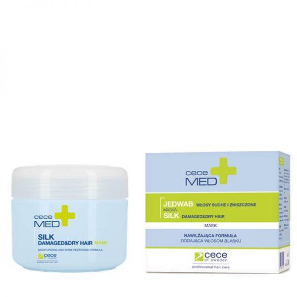 Maska nawilżająca do włosów Cece Med Silk Mask 200ml