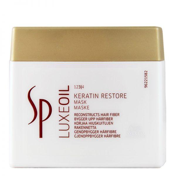 Maska odbudowująca Wella Sp Luxe Oil Keratin Restore 400ml