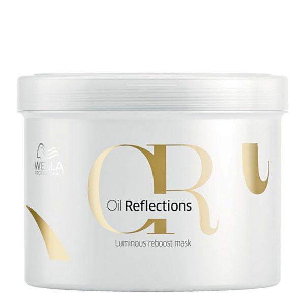 Maska wzmacniająca połysk włosów Wella Professionals Oil Reflections 500ml
