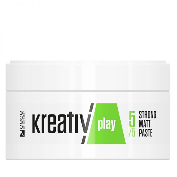 Silna matowa pasta do włosów Cece Kreativ Play Strong Matt 80g