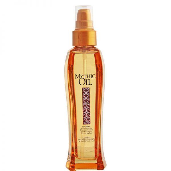 Odżywczy olejek do pielęgnacji włosów suchych Loreal Mythic Oil Rich Oil 100ml
