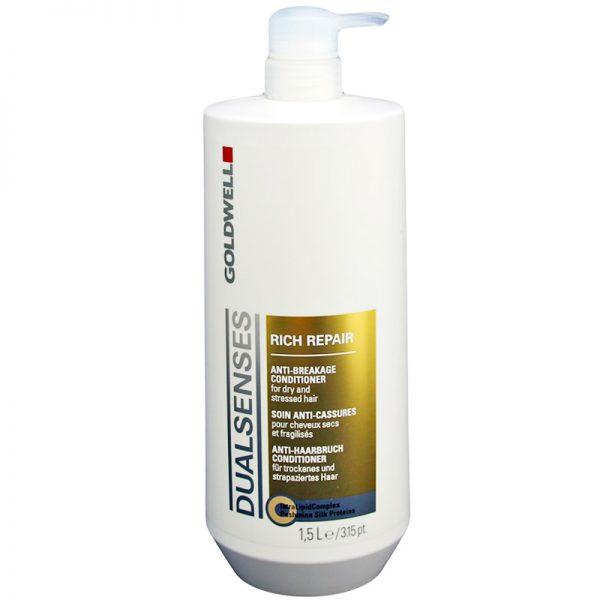 Odżywka do włosów suchych i zniszczonych Goldwell Dualsenses Rich Repair 1500ml
