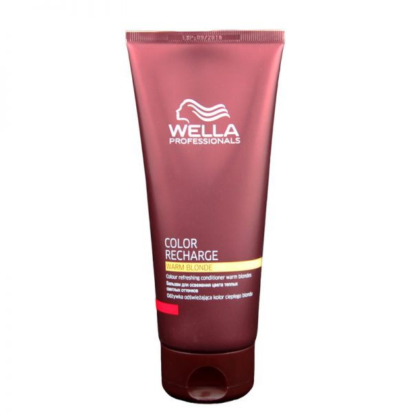 Odżywka odświeżająca kolor ciepłego blondu Wella Professionals Color Recharge Warm Blonde 200ml