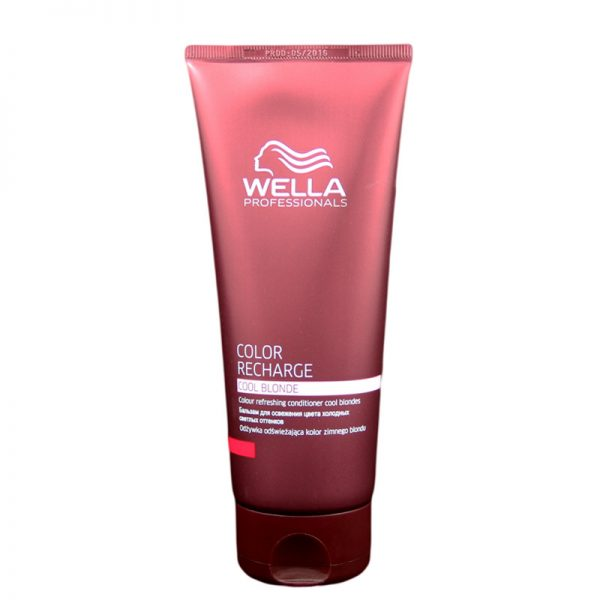 Odżywka odświeżająca kolor zimnego blondu Wella Professionals Color Recharge Cool Blonde 200ml