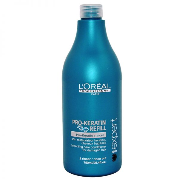Odżywka odbudowująca włosy Loreal Pro Keratin Refill 750ml