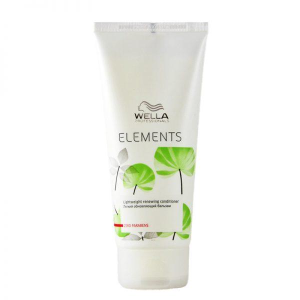 Odżywka odbudowująca włosy Wella Professionals Elements Lightweight Renewing 200ml