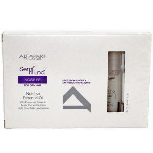 Olejek nawilżający do suchych włosów Alfaparf Nutritive Essential Oil 6x13ml