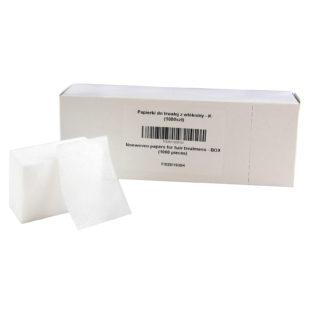 papierki do trwałej z włókniny