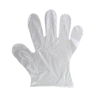 rękawiczki jednorazowe foliowe zrywki