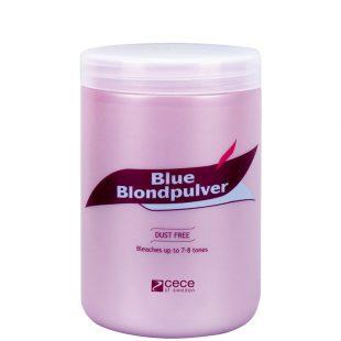 Rozjaśniacz w proszku do włosów, niebieski Cece Blue Blondpulver 500g
