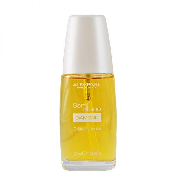 Serum rozświetlające włosy Alfaparf Semi Di Lino Diamond Cristalli Liquidi 30ml