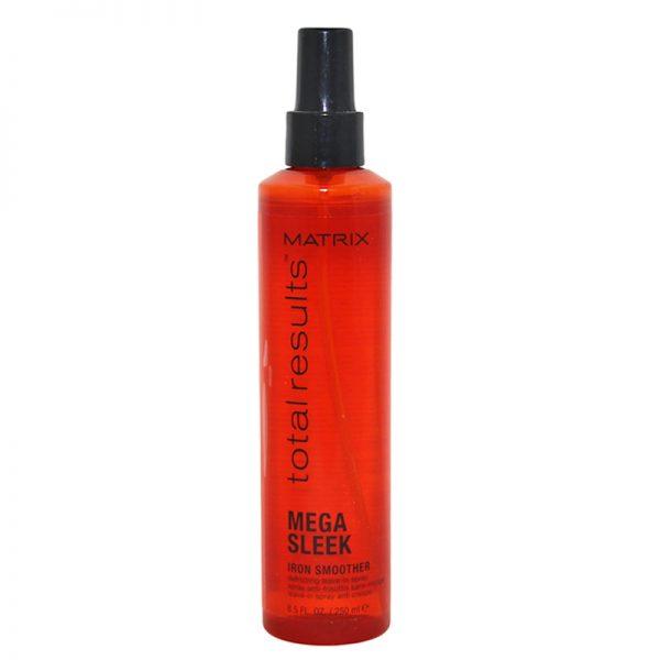 Spray chroniący włosy przed wysoką temperaturą Matrix Total Results Mega Sleek Iron Smoother 250ml