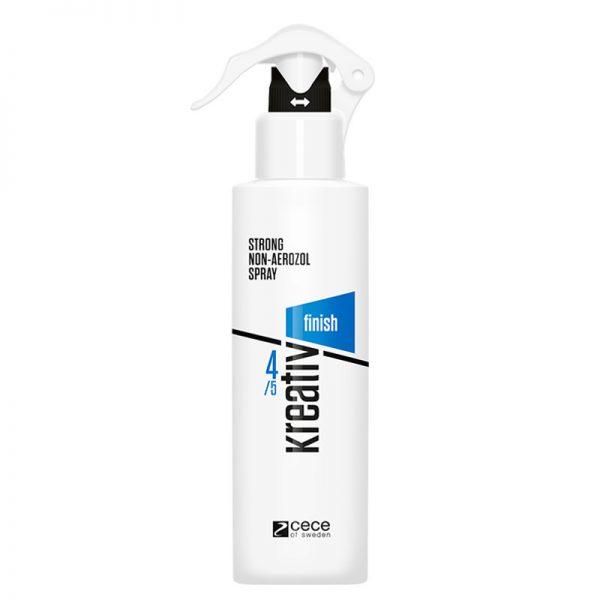 Spray do mocnej stylizacji włosów Cece Kreativ Finish Strong Non-Aerozol 250ml