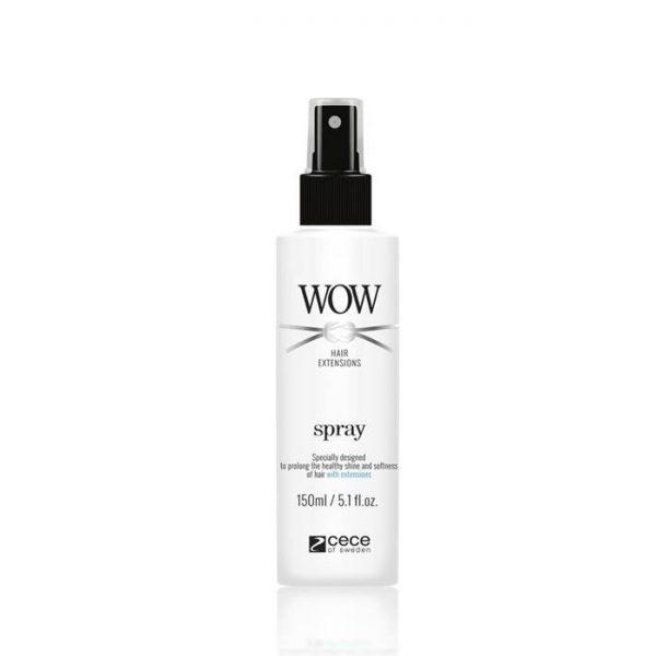 Spray nabłyszczający do włosów przedłużanych Cece WOW Hair Extensions 150ml