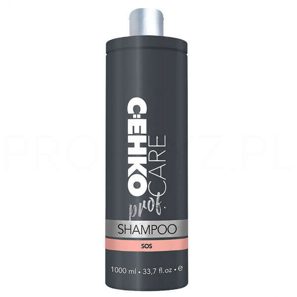 sos dla włosów szampon wegański