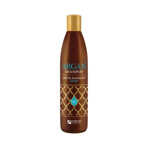 Szampon arganowy do włosów suchych i niszczonych Cece Argan Dry & Damaged 300ml
