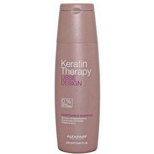 Szampon do pielęgnacji włosów Alfaparf Keratin Therapy Lisse Design 250ml
