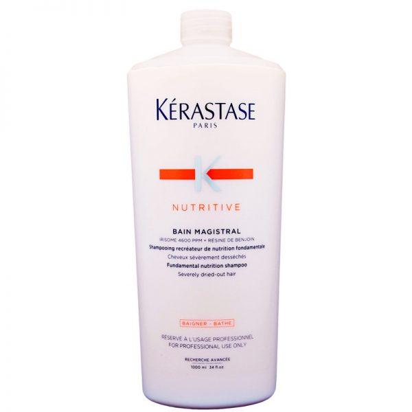 Szampon do włosów bardzo suchych i zniszczonych Kerastase Nutritive Bain Magistral 1000ml