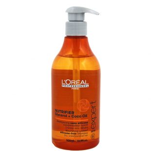 Szampon nawilżający do włosów suchych lub przesuszonych Loreal Nutrifier 500ml