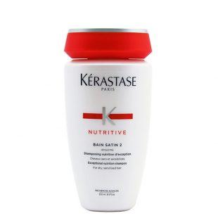Szampon odżywczy do włosów suchych i wrażliwych Kerastase Nutritive Bain Satin 2 250ml