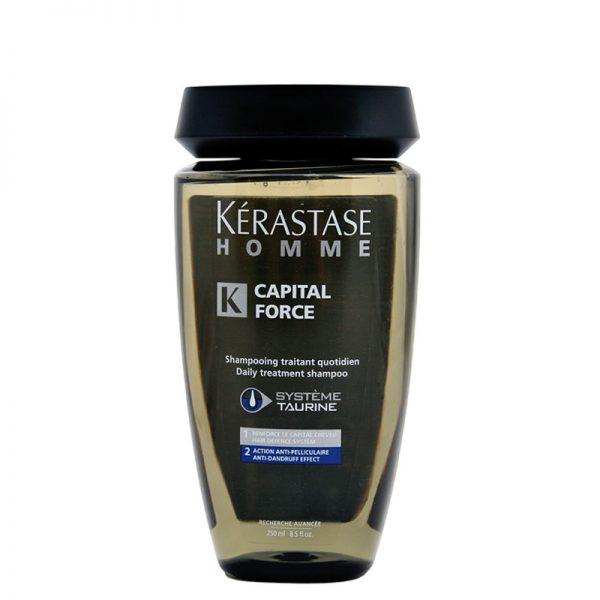 Szampon przeciwłupieżowy dla mężczyzn Kerastase Homme Capital Force 250ml