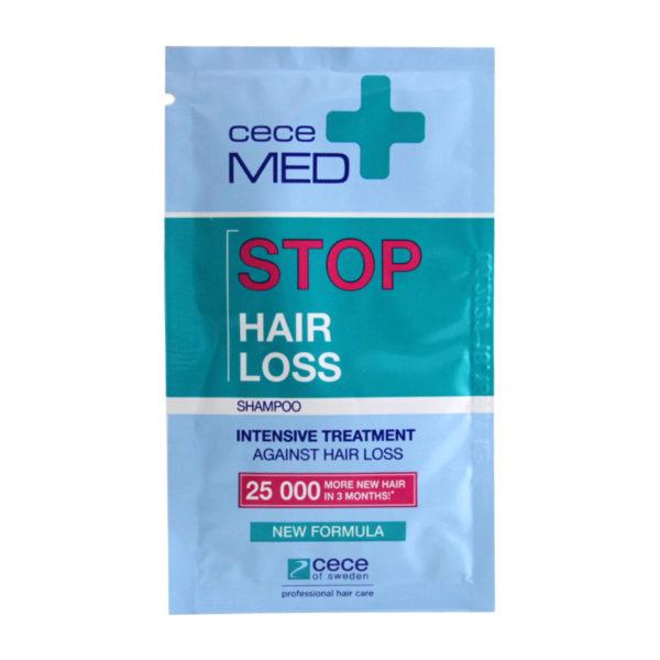 Szampon w saszatkach przeciw wypadaniu włosów Cece Med