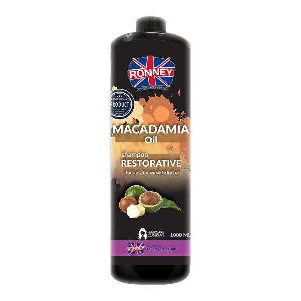 szampon z olejkiem macadamia ronney
