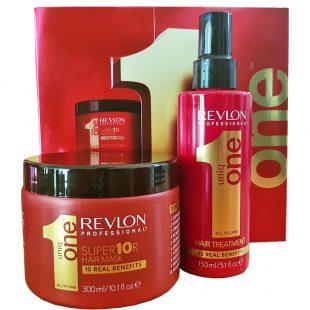 Zestaw regenerujący maska i kuracja Hair Treatment Revlon Uniq One